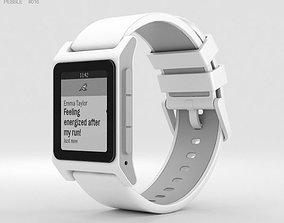 3D Pebble 2 White
