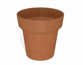 3D model Flower Pot - Clay