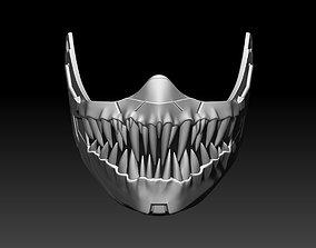 Kabal mask for cosplay Mortal Kombat 3D printable model 3