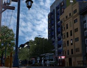 City street 3D asset
