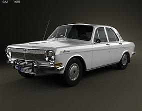 3D GAZ 24 Volga 1967