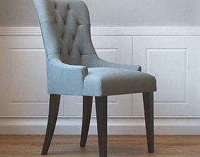3D model Flynn Scoopback Dining Chair