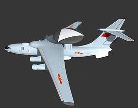 3D model KJ 2000 AWACS