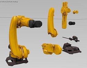 Kuka Quantec KR 180 K prime 3D print model