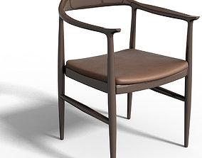 armchair Hans Wenger 3D model