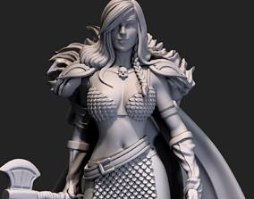 Barbarian Sonya 3D print model