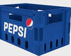 Pepsi Crate 3D asset