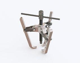 Bearing puller 3D model