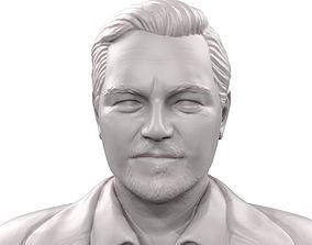 Leonardo DiCaprio 3d model 3d printable sculpture