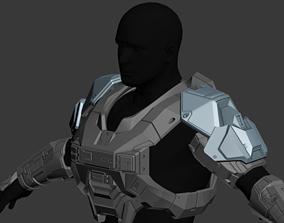 Reach ODST Shoulder Wearable 3D print Model