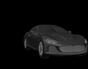 3D asset Maserati GT