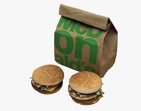 McDonalds Collection 3D model