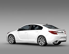 3D model Buick Regal GS 2015