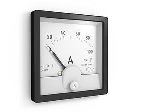 Amperemeter Voltmeter 3D model