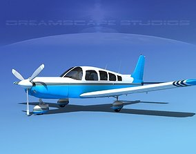 3D Piper Cherokee Six 300 V12