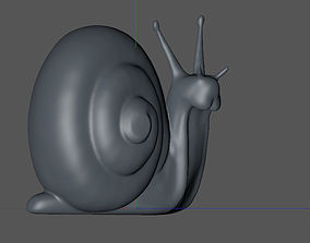 3D printable model insect snail