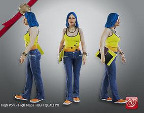 3D Student Female AAS 2130 003