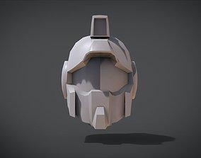 3D print model RGM-79 GM Head