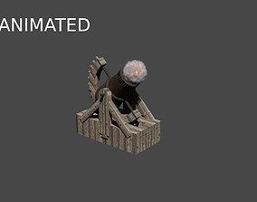3D model Bombarda by Leonardo Da Vinci