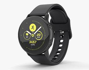 3D Samsung Galaxy Watch Active Black