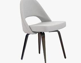 3D model Saarinen Executive Side Chair