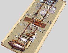 3D model Bar Tools Roll-Up
