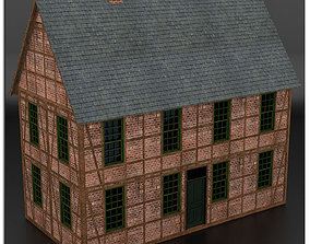 Half Timbered House 3D model