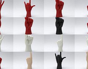 3D model Hand pack printable