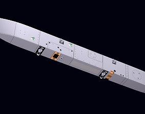 3D model Ventral Pylon for Meteor Missile