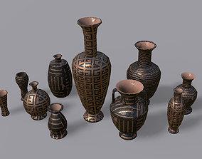 Vases PBR - Vol 2 3D asset