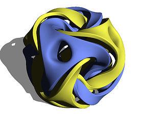 3D printable model Octahedron transformed