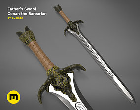 3D printable model Fathers Sword - Conan the Barbarian