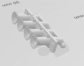 3D print model SR20 ITB intake manifold for RC