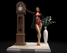 3D print model Homage to Dita Von Teese Lingerie statue