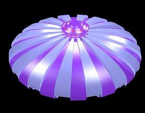 3D asset Flying saucer 1