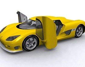 Koenigsegg CCR 3D model