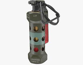 Grenade M84 3D model