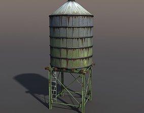 Water Tank 3D model VR / AR ready