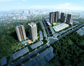 3D Residential building 067