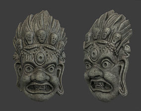 3D model Mayan Tribal Mask