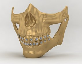 3D print model luxury gold higgs mask