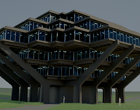 3D model realtime Geisel Library