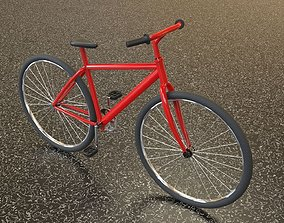 Bicycle 3D model game-ready