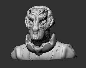 3D printable model Alien Head 4