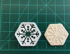 Snowflake Cookie Cutter 3D print model