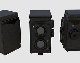 3D asset Camera retro