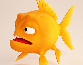 3D Fish cartoon