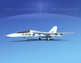 General Dynamics F-111 Aardvark V04 3D