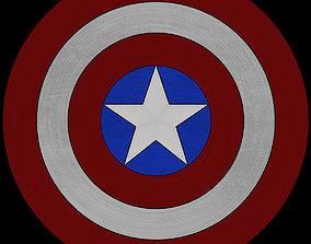 3D model Captain Americas Shield
