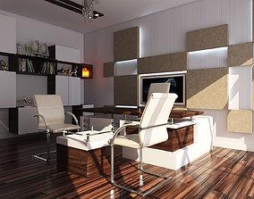 3D asset Office Modern